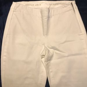 White Talbots Ankle Jeans - size 8